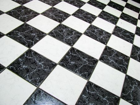 checkered abstract background in black and white showing photo