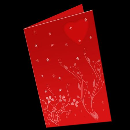 Floral greeting card  Stock Photo - 7624965