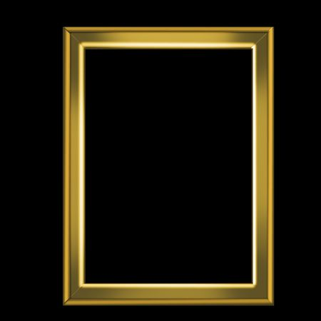 gold frame  Stock Photo - 7774761