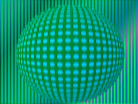 Abstract globe background made out of halftone dots  photo