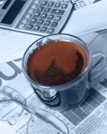 news values: one more cup of coffee