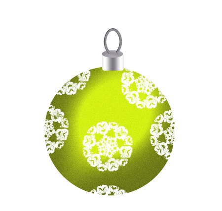 lightweight ornaments: Classic Christmas ball