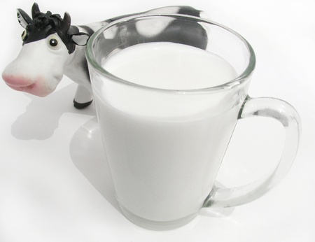 milk fresh: fresh milk and sweet cow  Stock Photo