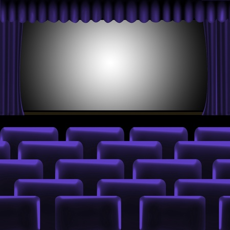 theater-cinema background  photo