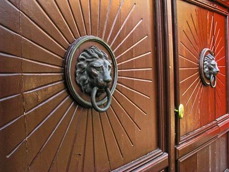 old ancient doors photo