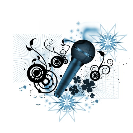 flower of live: music concept