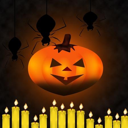 ignited: Happy Halloween Pumpkin,  Stock Photo