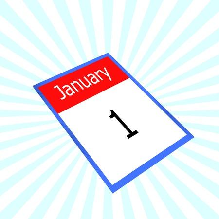 almanac: calendar 1 january