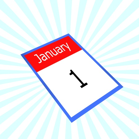 almanacs: calendar 1 january