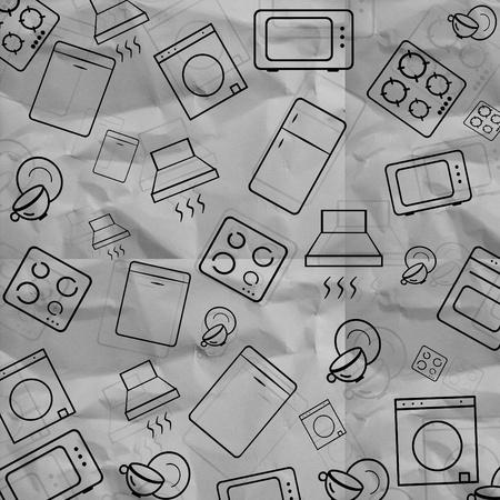 household appliances icons  Stock Photo - 11975303