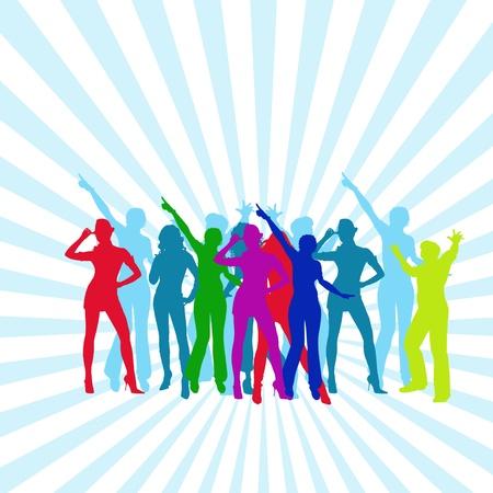 people dancing  photo