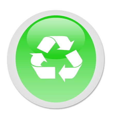 recicling button photo