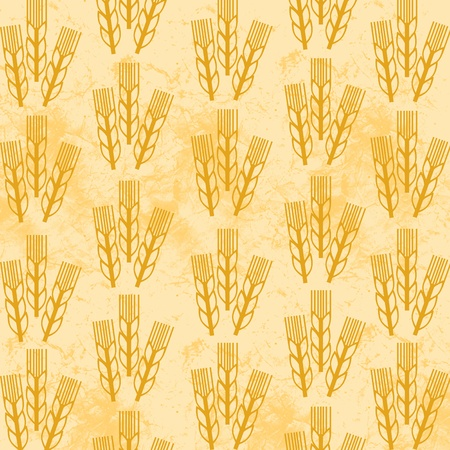 wheat pattern Stock Photo - 12635409
