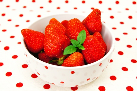 Hermosas las fresas photo