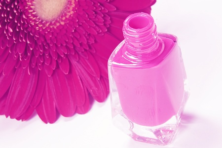 Isolated Nail Polish photo