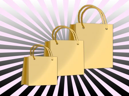 colorful shopping bags Stock Photo - 14909100