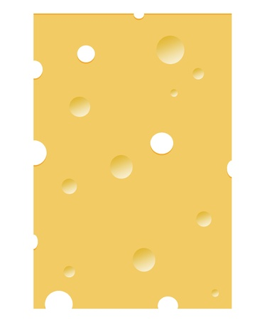 nice illustration with food motive - a cheese background  illustration
