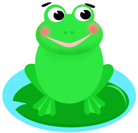 happy frog  photo