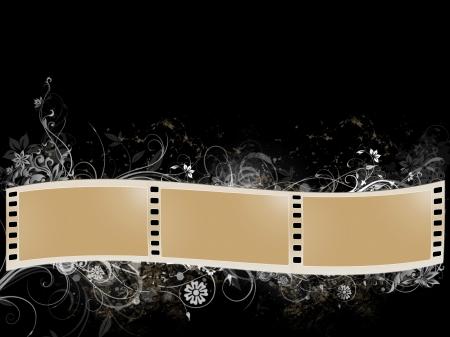 cintas de película grunge Foto de archivo - 15454836