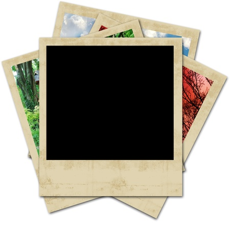 holiday photo blank frame photo