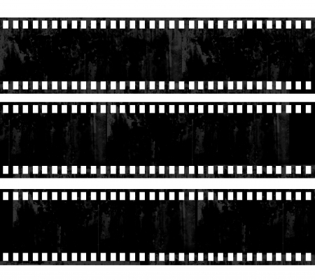 grunge film frame background with space for your text or image  photo