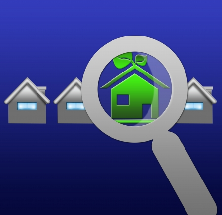 House search Stock Photo - 16825103