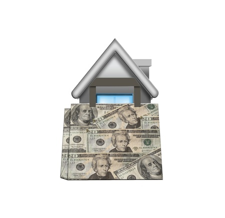 purchase house Stock Photo - 16973478