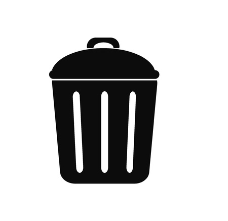 close icon: Trash can