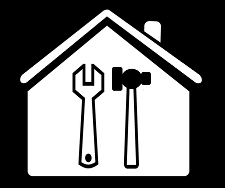 House with tools  photo