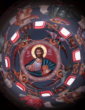 church Sveti Pantelejmon Serbia detail Stock Photo - 18895036