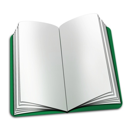 open book with blank pages Stock Photo - 19249622