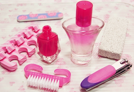 perfume,nail polish and other accessories photo