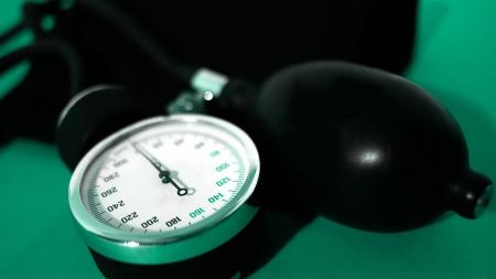 diabetes meter kit: Device for measuring blood Stock Photo