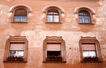 ancient windows Stock Photo - 21122529