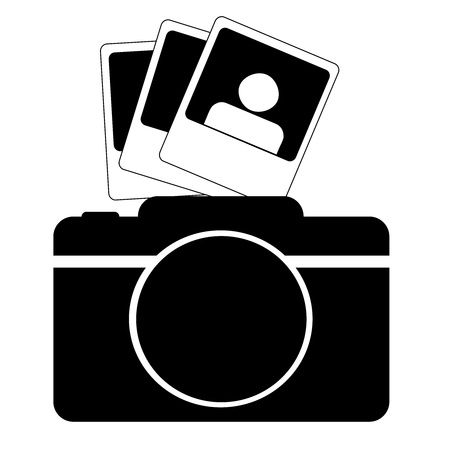 polariod frame: Camera icon