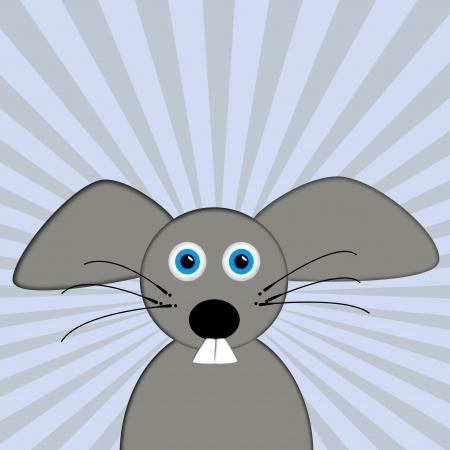 gnawer: Cute cartoon mouse