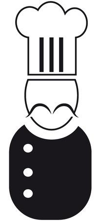 waiter cartoon  photo