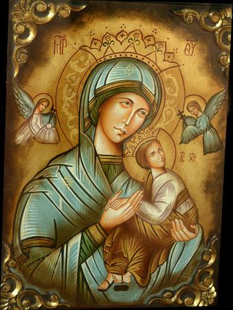 virgen maria: Santísima Virgen María Foto de archivo
