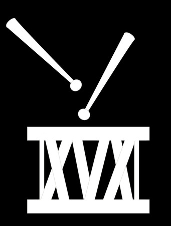 tercet: drums icon Stock Photo