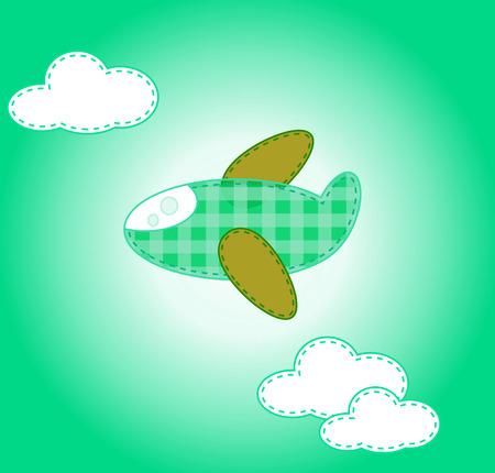 plane cartoon sticker photo