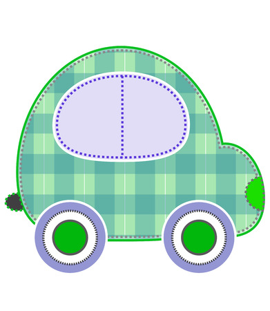colorful transport stickers car baby design photo