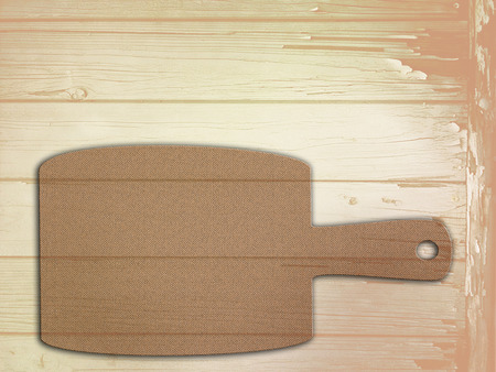 hardboard: empty wooden cutting boards