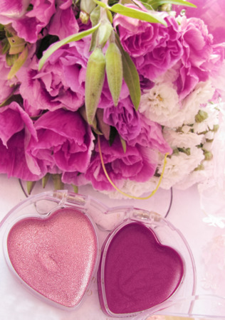 aroma facial: make up Stock Photo