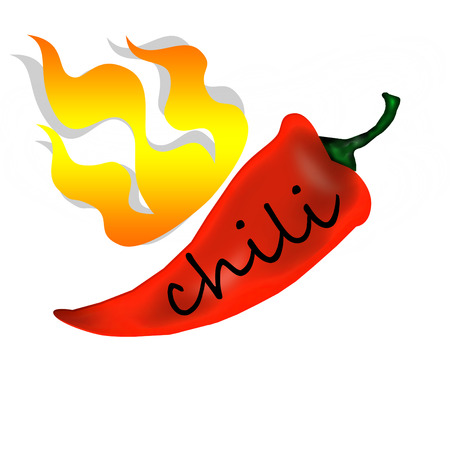 spicy: spicy ripe chili peppe
