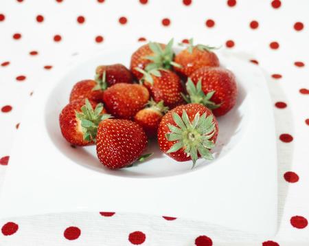 strawberrys: fresh strawberrys Stock Photo