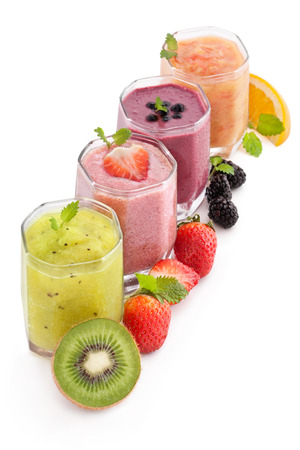fruit and berry heathy smoothie