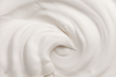 White texture of cream