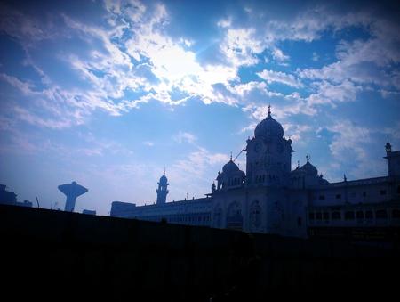 Golden temple,amristar,punjab,india Stock Photo