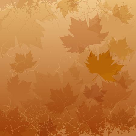 background: autumn background Illustration