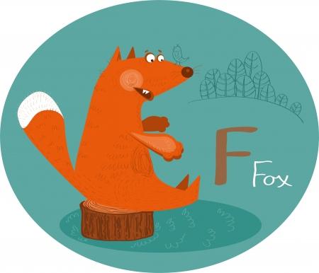 ABC, Fox,Letter F